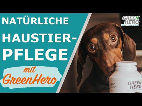 Natürliche und chemiearme Pflegemittel für Hunde, Katzen, Pferde, Kleintiere mit GreenHero