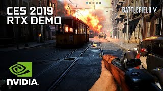 Battlefied V RTX On/Off Demonstration – CES 2019