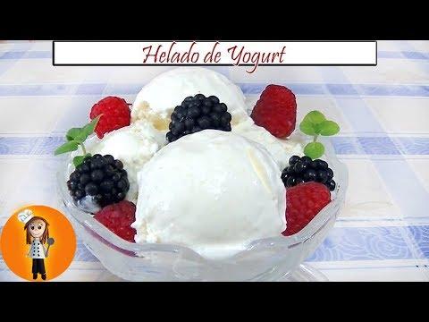 🍦 Helado de Yogurt | Receta de Cocina en Familia