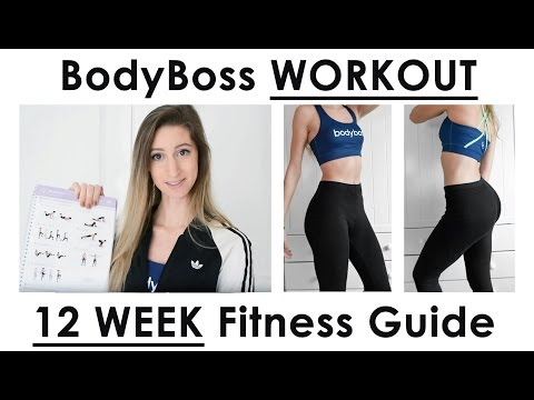 BodyBoss WORK OUT // 12 WEEK FITNESS GUIDE // First workout revealed