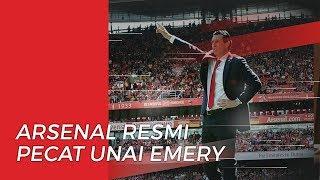 Arsenal Resmi Memecat Unai Emery dan Para Stafnya dari Kursi Kepelatihan