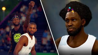 NBA Live 19 The One Career | LERANGE JAMES MAKING DEEP CONTESTED THREES IN FIRST GAMES!