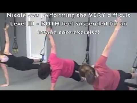 TRX Suspended Side Plank