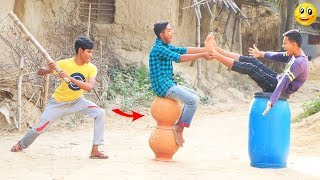 New Top Funny Comedy Video 2020__Very Funny Stupid Boys__Episode--109--Indian Fun || ME Tv