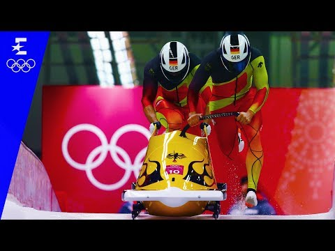Bobsleigh | 2-Man Highlights | Pyeongchang 2018 | Eurosport