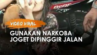 Viral Video Remaja Perempuan Joget di Pinggir Jalan, Positif Gunakan Narkoba