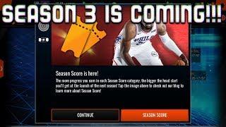 SEASON 3 PREDICTION AND SEASON 3 IS COMING BABY!S2 NBA LIVE MOBILE 18!!