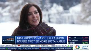Davos 2019: Exclusive: Tania talks to HRH Crown Princess Mary of Denmark (video)