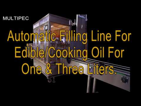 Automatic Linear Volumetric Filling Machine MultiFill 8-3/5L