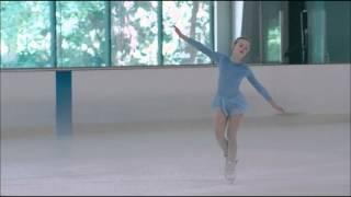 Elle Fanning ice skating scene from Somewhere 2010