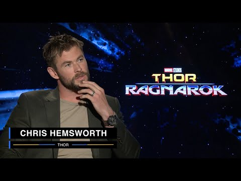 Thor: Ragnarok Chris Hemsworth Interview