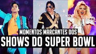 Os 15 Momentos mais Incríveis dos Shows do SUPER BOWL!