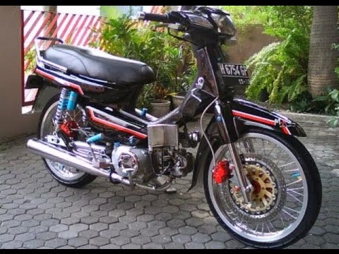 Video Motor Trend Modifikasi | Video Modifikasi Motor Honda Astrea Grand Velg Jari-jari Terbaru Part 2