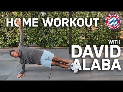 Home Workout with David Alaba | FC Bayern