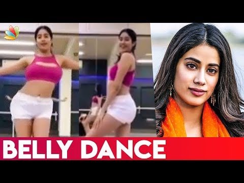 Sridevi daughter Jhanvi Kapoor posts belly dancing video | Hot Cinema News