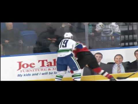 Cole Cassels vs. Ryan Kujawinski