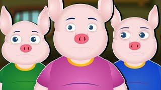Sprokies Verhale | AFRIKAANS FAIRY TALES | Three Little Pigs In Afrikaans | Drie Klein Varke