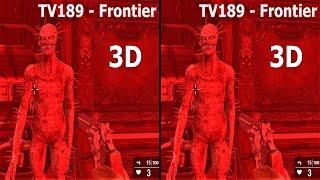 3D VR horror TV189   Frontier VR box 3D  SBS google cardboard