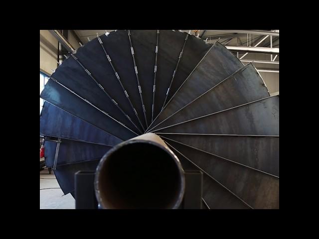 Stahlbau Metallbau Windeck: Wendeltreppe