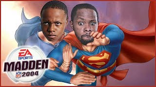 HE HAD TO COME RESCUE HIS LITTLE BROTHER! - Madden 04 Gameplay