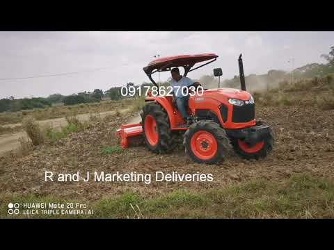 Kubota L5018 2019 model delivery and demo