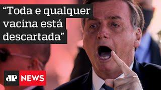 Bolsonaro quer interromper conversas com João Doria