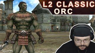 L2 Classic EU - Início de gameplay da classe Orc Fighter (Quests Iniciais em Orc Village) PT BR