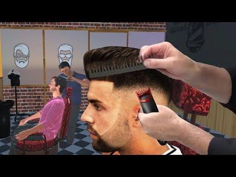 Berbar Shop Hair Salon 3D: Crazy Hair Cutting Gameplay    DroidGamingTV