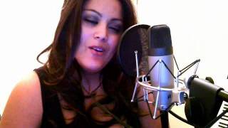Samantha Payne singing When You Put Your Hands on Me Christina Aguilera debut album