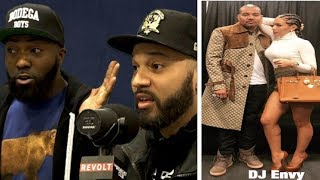 DJ Envy GOES OFF on Desus & Mero~Don't EVER Disrespect My Wife!