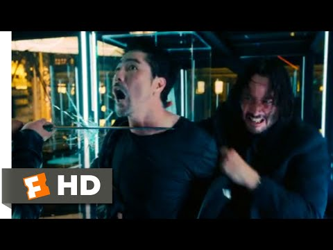 John Wick: Chapter 3 - Parabellum (2019) - Glass Room Fight Scene (8/12) | Movieclips