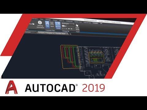 AutoCAD 2019: DWG Compare | AutoCAD
