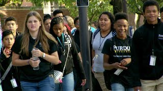 Purdue Polytechnic High School's very first day