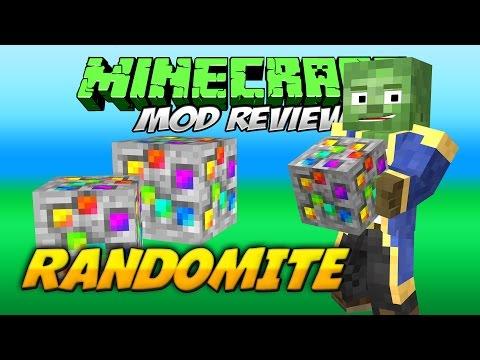 RANDOMITE MOD | Un ore generoso que te da de todo | Minecraft 1.7.10