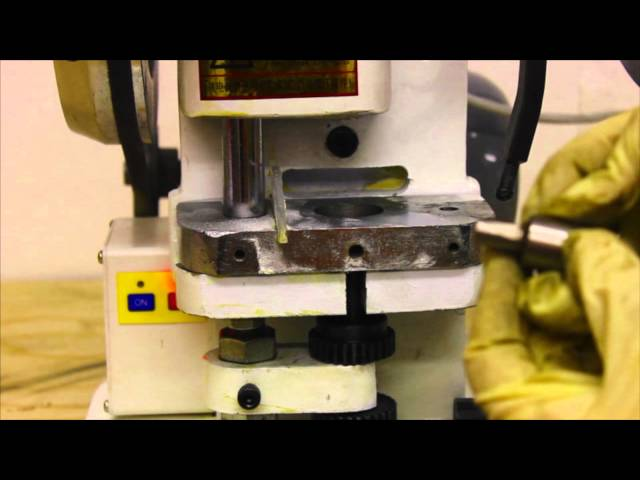 How To Change A Die – LFA Tablet Presses
