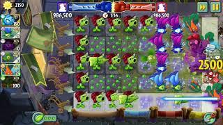 Plants Vs Zombies 2 Battlez Week 46 Practice Over 3.8 mill