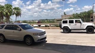 Как сэкономить в США парковка в аэропорту Орландо дешевле чем Uber 08.2017 жизнь в Америке
