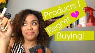 Products I Regret Buying! | samantha jane