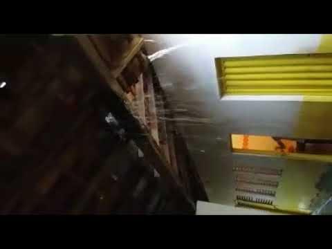 Chove mais dentro do que fora de escola municipal em Batalha