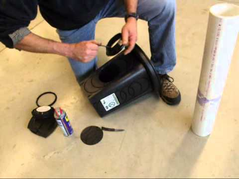 Polylok 4-Hole Drainage Box with Grate Cover Video