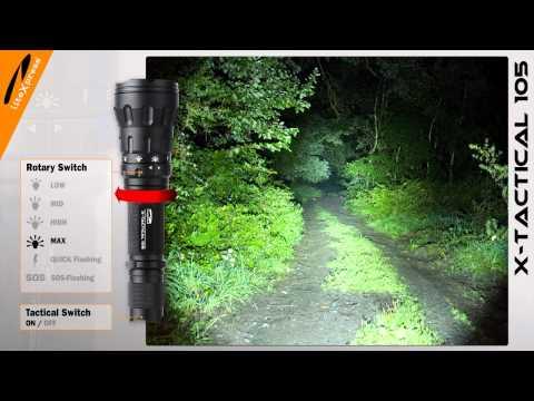 liteXpress LED-Taschenlampe X-TACTICAL 105
