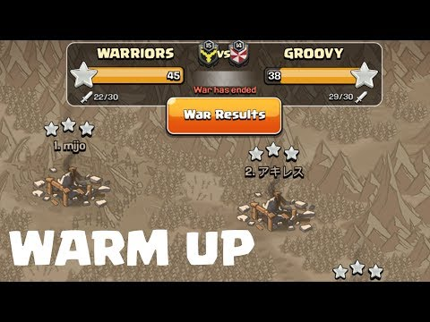 WARM UP WAR BEFORE CWL , CLASH OF CLANS INDIA.