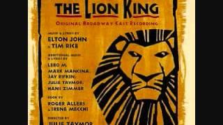 The Lion King Broadway Soundtrack - 10. Rafiki Mourns
