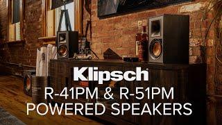 Klipsch R-41PM Powered Speakers Active speaker