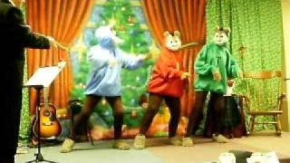 """The Chipmunks sing """"Christmas Time is Here"""""""