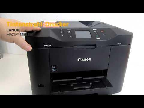 Canon  Maxify MB2350 4-in-1-Drucker Hands On Test - Deutsch / German ►► notebooksbilliger.de