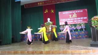 preview picture of video 'Múa: Những cô gái Quan họ'