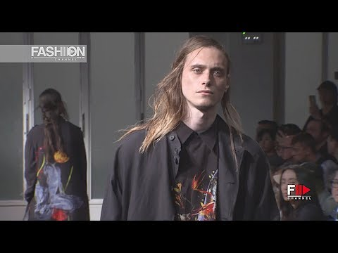 YOHJI YAMAMOTO Spring Summer 2019 Menswear Paris - Fashion Channel