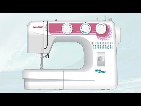 Разборка швейной машины Janome