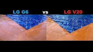 LG G6 Vs LG V20 CAMERA TEST
